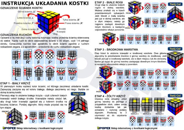 Jak ułożyć kostkę Rubika