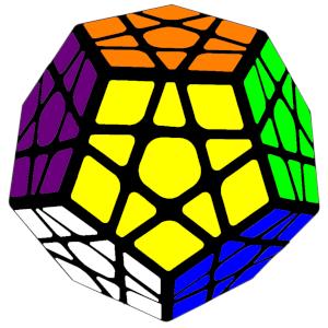 Kostka Rubika Megaminx 3x3